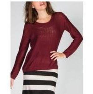 Hi 3 for $25❤ Burgundy sweater